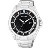 星辰 CITIZEN 科技領袖【鈦】時尚腕錶 AW1401-50E