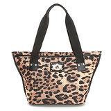 PLAYBOY- Z- Leopard 系列豹紋肩背包-咖色