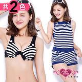【天使霓裳】夏日特輯 三件式泳衣比基尼(共2色)