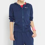 【TOP GIRL】素面口袋POLY連帽外套-女-(丈青藍)