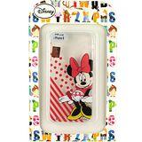 【Disney】Apple iPhone 6 (4.7吋) 微笑系列彩繪透明保護軟套-米妮