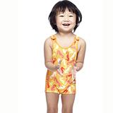【SAIN SOU】女童泳裝附泳帽A80409