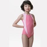 【SAIN SOU】女童連身三角泳裝附泳帽A81261