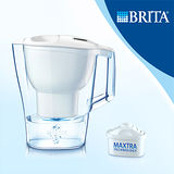 【德國BRITA】 Aluna 愛奴娜2.4L 透視型濾水壺 (內含一入濾芯)