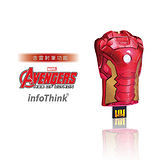 InfoThink 復仇者聯盟2鋼鐵人胸甲造型隨身碟 32GB(含簡報筆功能)