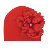 美國Jamie Rae 100%純棉帽 紅色棉帽+經典正紅大牡丹 (JRCHP12)