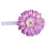 美國Jamie Rae 100%純棉髮帶 薰衣草細髮帶+薰衣草紫雛菊 (JRFBD01)