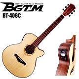 ★集樂城樂器★BGTM BT-408C電木吉他(AA級英格曼雲杉面板 )!最新款