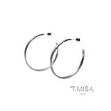 【TiMISA】活力漾彩-原色 純鈦耳環一對