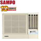 [促銷]SAMPO聲寶 3-5坪右吹旗艦系列定頻窗型冷氣(AW-PA22R)送安裝
