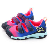 NewBalance 中童 護趾運動涼鞋KD555FPP-粉藍