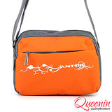 DF Bagschool - 輕質量戶外休閒側背包-橘色