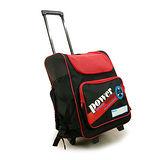 【D.L.D多輪多】專業直排輪 溜冰鞋 專用拉桿包 大拉桿袋  黑紅