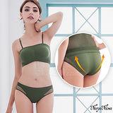 Naya Nina性感小V!無縫透氣洞洞低腰內褲S-XL(軍綠)