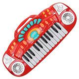 多功能電子琴 (顏色隨機出貨)