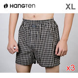 ★3件超值組★HANG TEN 精梳棉定織五片式平口褲XL