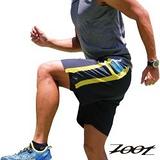 2015 ZOOT 頂級冰涼感二合一7吋輕肌能跑褲(加州風)(男) Z1504018