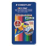 【施德樓 STAEDTLER】MS14410M12 水性色鉛筆 (12色組)
