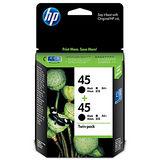 【HP】CC625AA/NO.45 原廠雙包裝黑色墨水匣