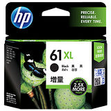 【HP】CH563WA/NO.61XL 原廠高容量黑色墨水匣