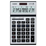 【CASIO 卡西歐】JS-140TVS-SR 14位數 桌上型可摺式面板計算機