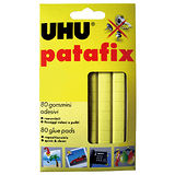 【UHU】UHU-001 萬用貼土/隨意貼黏土/免釘粘土 (80gm/1片入)