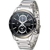 精工 SEIKO SPIRIT 極簡美學太陽能計時腕錶 V172-0AP0A SBPY119J