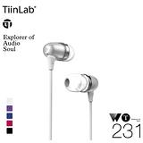 TiinLab 周杰倫 WT231 耳塞式耳機 (白色) Whisper of TFAT WT 耳語系列