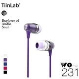 TiinLab 周杰倫 WT231 耳塞式耳機 (紫色) Whisper of TFAT WT 耳語系列