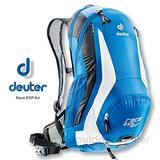 【德國 Deuter】Race EXP Air 輕量型自行車網架背包 32133 藍白