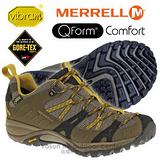 【美國 MERRELL】女新款 SIREN SPORT GORE-TEX 多功能郊山健走鞋 橄欖色 ML21438