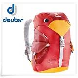 【德國 Deuter 】Kikki 6L 大嘴鳥 可愛兒童背包 36093 紅