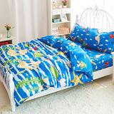 Picasso-海洋世界-雙人三件式 床包組