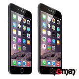 MgMan iPhone 6 Plus (5.5吋)金銀蔥透明正反軟膜