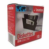 【IMATION】1.44MB磁碟片 10片裝