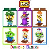 LOZ 鑽石積木 9126-9131 玩具總動員系列 益智玩具