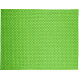 《ZONE》十字編織餐墊(綠)