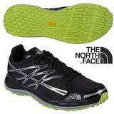 【美國 The North Face】男新款 ULTRA TR II 輕量透氣耐磨越野跑鞋 CKM3 黑/日光黃