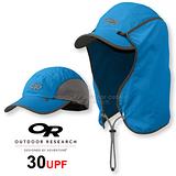 【美國 Outdoor Research 】SUN RUNNER CAP™ UPF30 抗紫外線透氣護頸帽/抗UV防曬後遮 鴨舌帽.跑步帽.棒球帽.擋片可拆 藍 OR80610