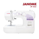 日本車樂美JANOME 機械式縫紉機JF-512