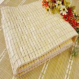 【名流寢飾】專利型棉織帶孟宗竹 無毒無臘 手作麻將蓆-標準雙人5尺