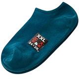 【KEROPPA】可諾帕網狀造型加大男船襪x4雙C97001-X土耳其藍