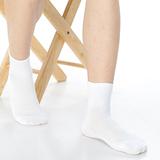 【KEROPPA】可諾帕網狀造型1/2加大男短襪x4雙(男女適用)C97006-X白