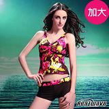 【Heatwave熱浪】野艷靚彩 萊克二件式泳裝(加大)-81485