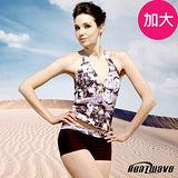 【Heatwave熱浪】時尚美姿 加大萊克二件式泳裝-81556