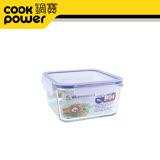 鍋寶微波耐熱玻璃保鮮盒1100ML-BVC-1102