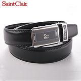 【Saint Clair】法國聖克萊牛皮紳士自動皮帶(多款任選)