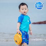 Splash About 潑寶 UV Close Fit 兒童抗 UV 防曬泳衣 -普普風帆船 上衣