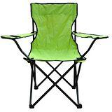休閒扶手折疊椅-螢光綠