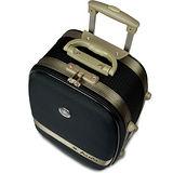 【Audi 奧迪】25吋新蜂巢格8輪360度~行李箱旅行箱 LT-71525-黑